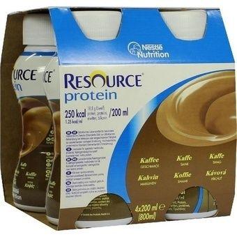 Resource Protein Kávový 4x200 ml