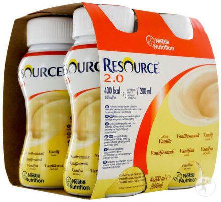 Resource Fibre Vanilkový 4x200 ml cena od 192 Kč