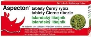 Aspecton černý rybíz 30 tablet cena od 66 Kč