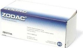 Zodac 90 tablet cena od 166 Kč