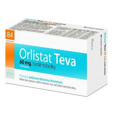 Orlistat Teva 60 mg 84 tobolek cena od 506 Kč
