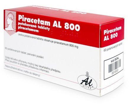 Piracetam AL 800 tablet cena od 101 Kč