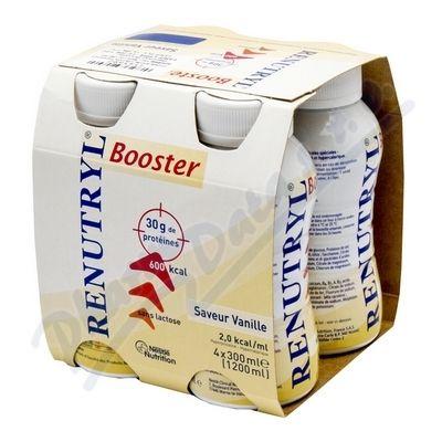 Renutryl Booster Vanilková příchuť 4x300 ml cena od 267 Kč