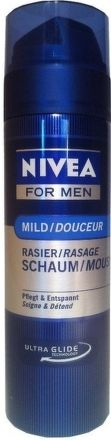 NIVEA FOR MEN č.81700 pěna na holení 200 ml
