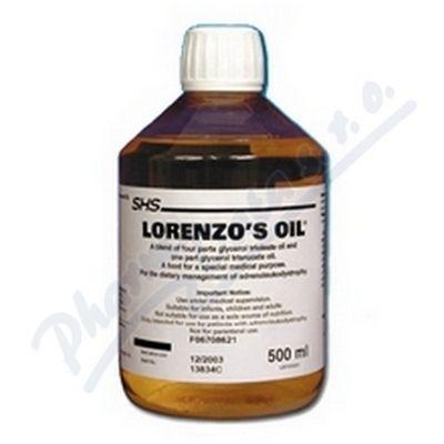 Lorenzo-Oil roztok 500 ml cena od 6820 Kč