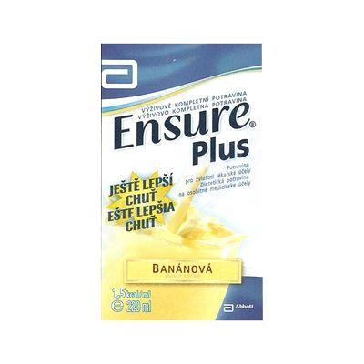 ENSURE PLUS banánová příchuť roztok 220 ml