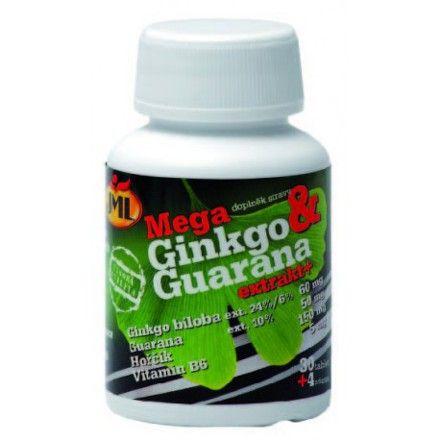 JML Mega Ginkgo Guarana+ 34 tobolek