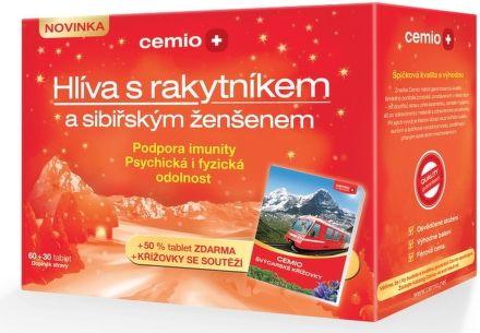 Hlíva s rakytníkem a sibiřským ženšenem 60 tablet