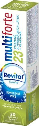 Revital Multi forte Tropické ovoce 20 tablet
