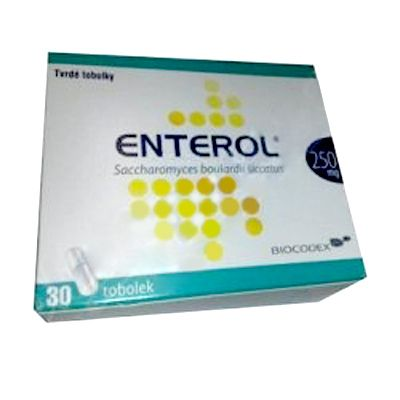 Enterol 250 mg 30 tobolek cena od 267 Kč