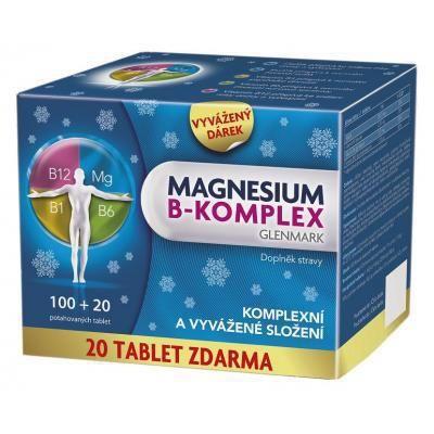 Glenmark Magnesium B-komplex 100 tablet