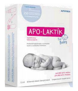 APOTEX APO-LAKTÍK For baby 7,5 ml