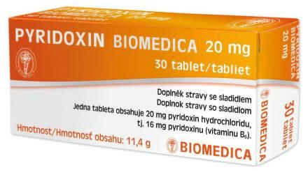 Pyridoxin Biomedica 30 tablet