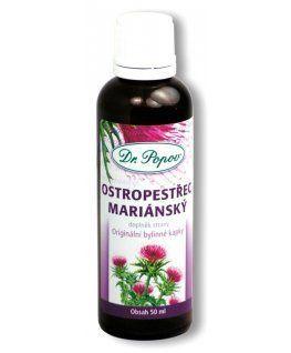 Ostropestřec mariánský Originální bylinné kapky 50 ml