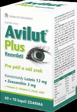 Avilut Plus Recordati 60+10 kapslí