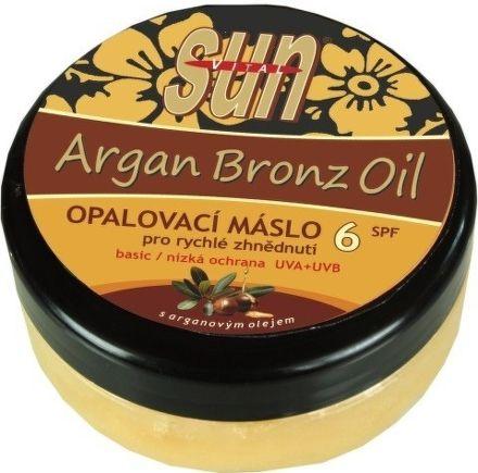 SUN Bronz OPALOVACÍ MÁSLO OF6 s arganovým olejem 200 ml