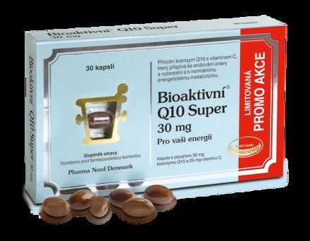 Bioaktivní Q10 Super 30 mg 30 kapslí