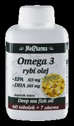 Omega 3 rybí olej Forte 67 tablet