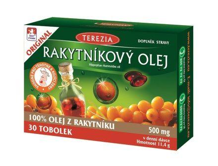 Rakytníkový olej 30 tobolek