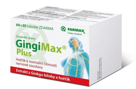 GingiMax Plus 60+30 tobolek