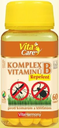 Komplex vitaminů B Repelent 60 tablet