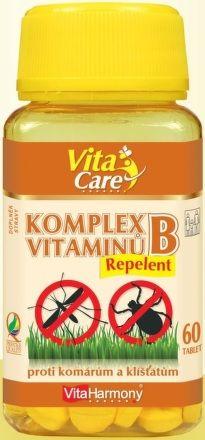 Komplex vitaminů B Repelent 60 tablet