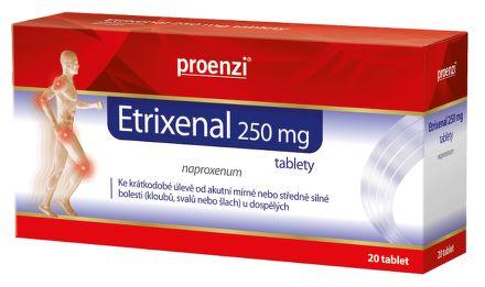 Etrixenal 250 mg 20 tablet cena od 93 Kč