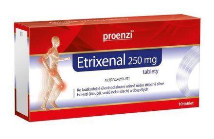 Etrixenal 250 mg 10 Tablet cena od 65 Kč