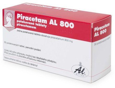 Piracetam AL 800 30 tablet cena od 60 Kč