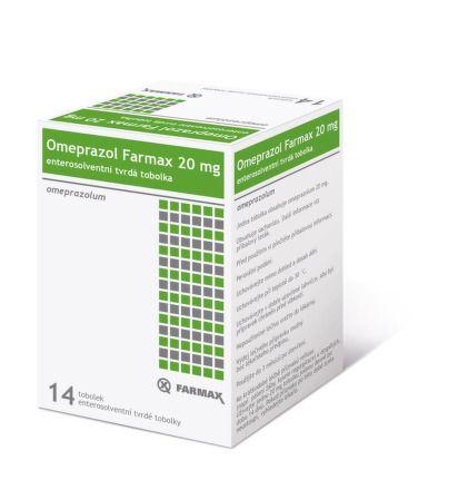 Omeprazol Farmax 20 mg 14 tobolek cena od 44 Kč
