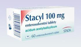 Stacyl 100 mg 60 Tablet cena od 27 Kč