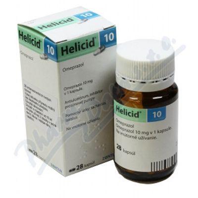 Helicid 10 mg 28 kapslí cena od 0 Kč
