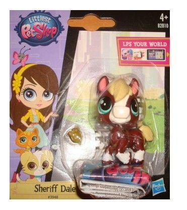HASBRO LPS Littlest Pet Shop 3948 Sheriff Dale cena od 99 Kč