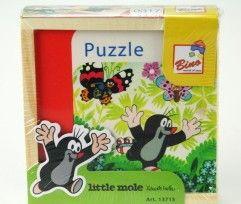 Bino První puzzle Krtek 4 x 4 dílky cena od 109 Kč