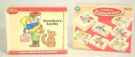 DINO Kostky Zmatlíková Honzíkovy kostky cena od 199 Kč