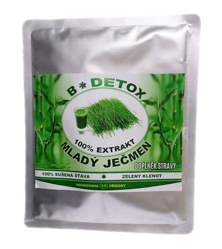 Bio-detox 100% extrakt z mladého ječmene 200 g