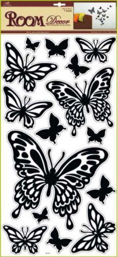 Anděl Přerov Samolepka Room Decor Motýli černí 69x30 cm