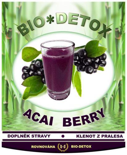 Bio-detox Přípravek na obezitu Acai Berry prášek 200 g