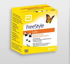 Abbott FreeStyle Testovací proužky 50 ks