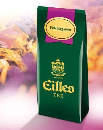 EILLES Čaj ovocný sypaný Tee Früchtegarten 250 g cena od 235 Kč
