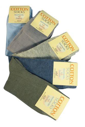 Cotton Socks Dámské jednobarevné ponožky