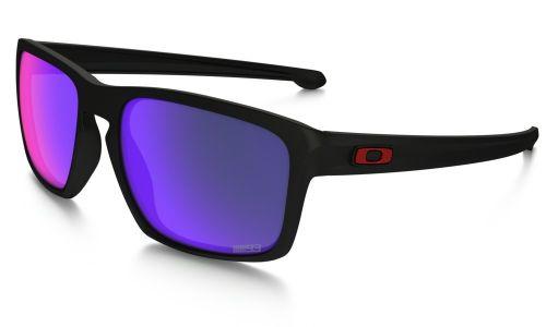 Oakley Sliver Matte Black Positive Red Iridium