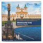 Česká mincovna Sada oběžných mincí 2016 Olomoucký kraj stand