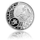 Česká mincovna Postříbřená medaile Staroměstský orloj - Ryby proof