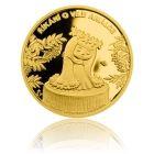 Česká mincovna Zlatá mince 5 NZD Víla Amálka proof
