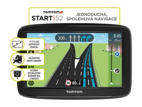 TomTom START 52 Europe Lifetime