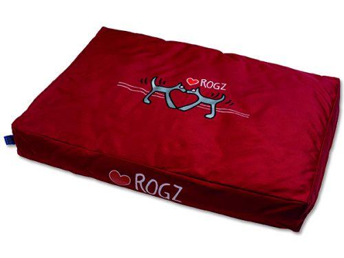 ROGZ Flat Podz Red Heart matrace