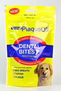 ALAVIS PlaqueOff Dental Bites 150 g