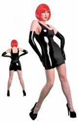 Fantasy Latexové mini šaty