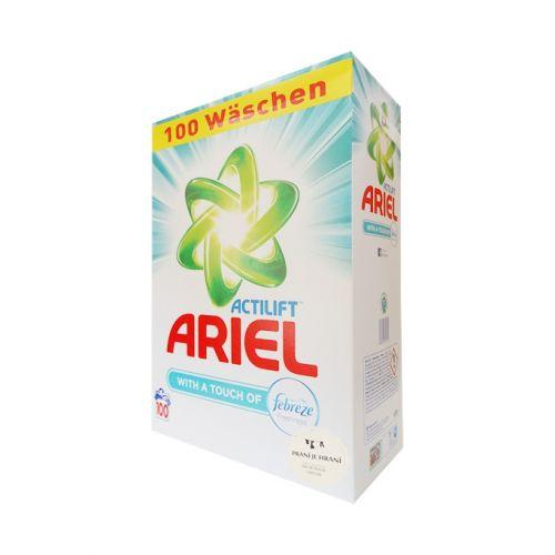 ARIEL Actilift Febreze prací prášek 100 dávek
